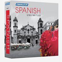 Pimsleur Unlimited Spanish Language Course 30 Lessons