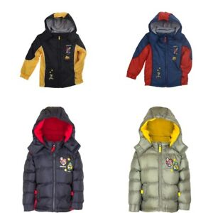 9f7d07a33 Super Mario winter coat fleece lined puffer jacket new licensed 3-8 ...