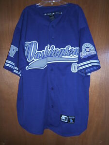 Washington-Huskies-Starter-Jersey-Purple-Embroidered-L-New