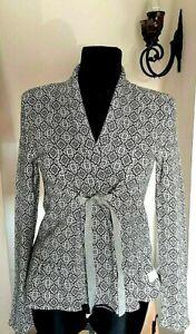 ODD MOLLY WOMEN'S SIZE 2 SMALL Shawl Collar JACKET CARDIGAN COTTON SOFT BLAZER