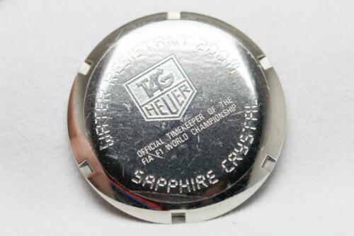 Genuine Tag Heuer Stainless Steel Caseback Reference Formula 1 Gents