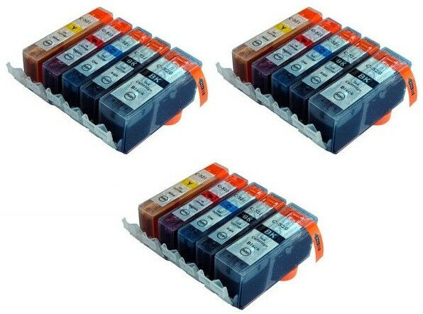 Compatible 15 Ink Cartridge Set for Canon Pixma MP540