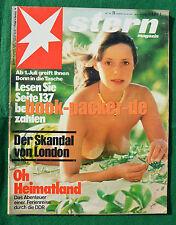 STERN 1973 Nr. 23: Nordvietnam / Callgirl-Skandal England / Concorde