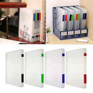 Image Is Loading A4 Files Lockable Document Case Storage Box Holder