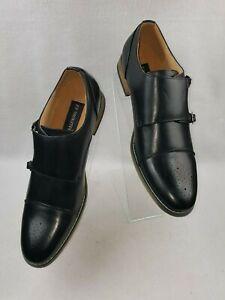 UV-Signature-034-G61069-157-034-Men-039-s-Monk-Strap-Cap-Brogue-Dress-Shoes