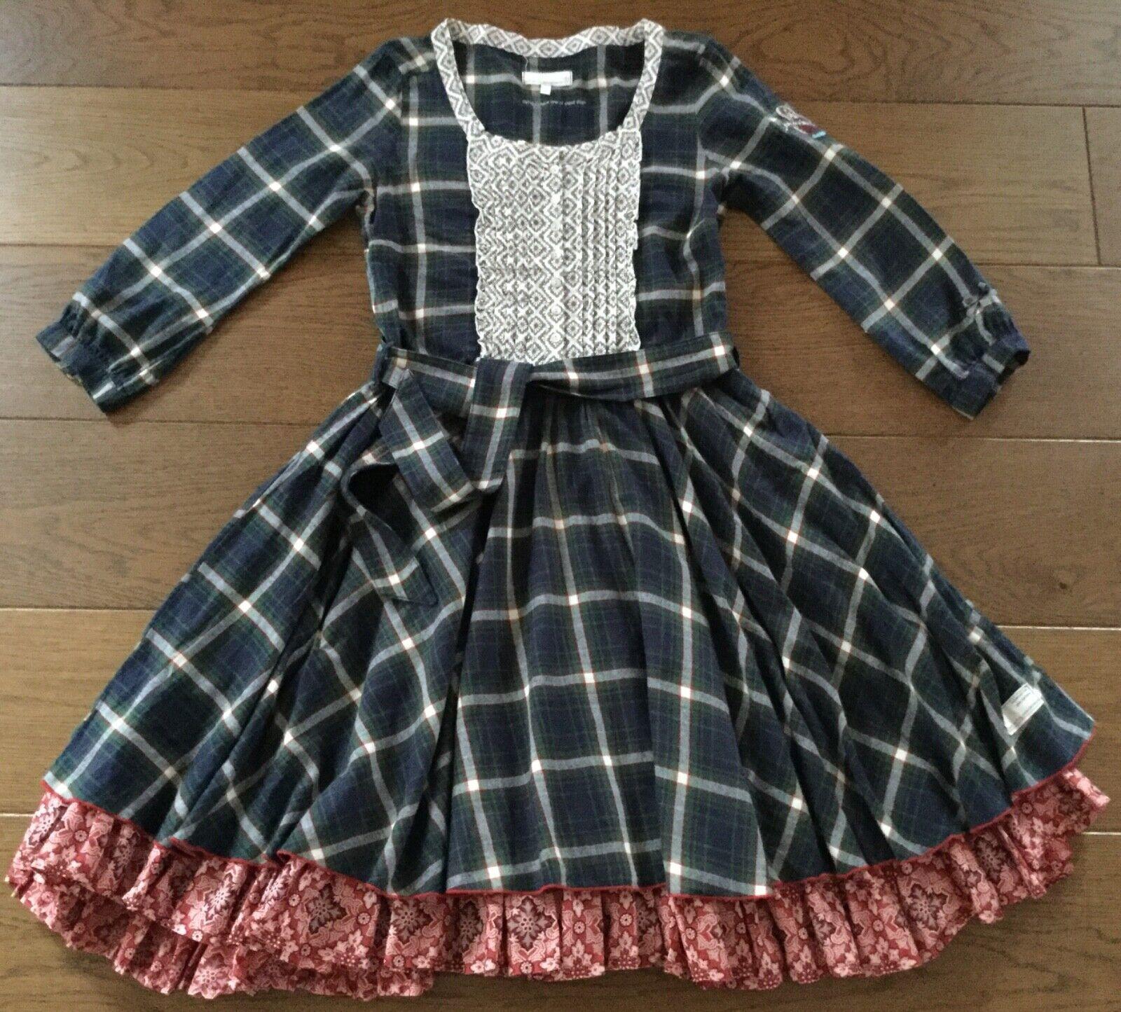 Odd Molly Schweden Kleid Karo Farmer Impressionen