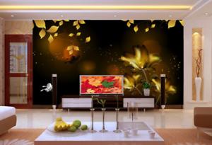 3D Anime bluemen Muster 523 Tapete Tapeten Mauer Foto Familie Tapete Wandgemälde