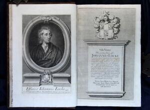 The-Works-of-John-Locke-1727-Third-Edition-Folio-Portrait-Plate-Dedication-FP