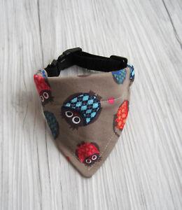 Halsband-verstellbar-Halsumfang-29-32-cm-Hundetuch-Hundehalstuch-Hundebekleidung