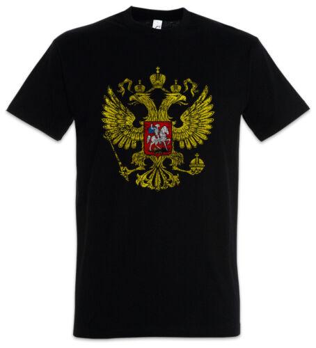 Russian Eagle Vintage Logo T-Shirt Soviet Union CCCP Adler Russia Russie URSS