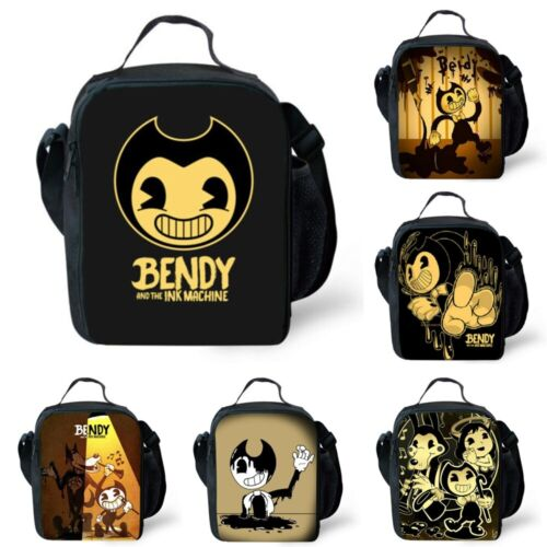 Enfant Bendy and the Ink Machine Insulated Sac de boîte à lunch Sacs Snack Daily