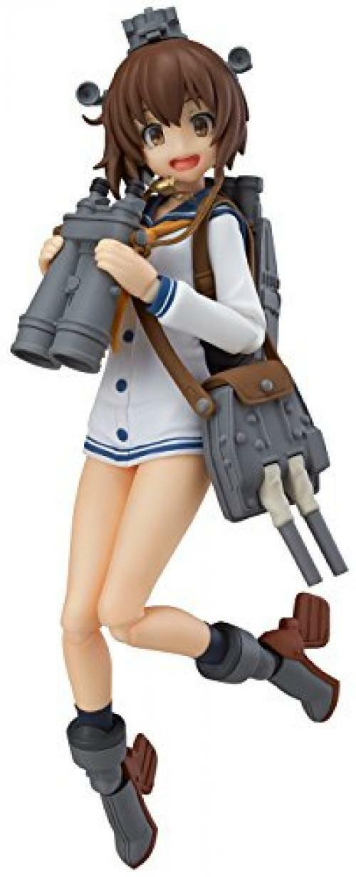 NEW figma 258 Kantai Collection -KanColle- Yukikaze Figure Max Factory F/S