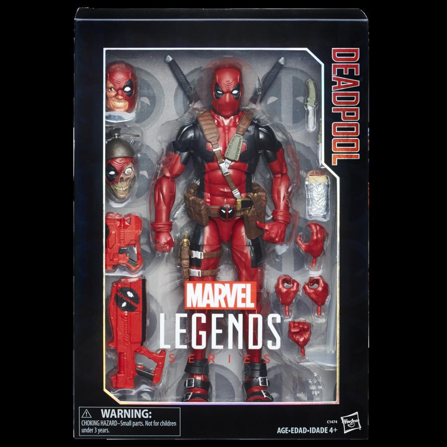Hasbro marvel - legenden für deadpool 12 zoll zahlen