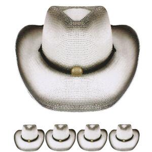 323621503ebda Image is loading WESTERN-COWBOY-HAT-CAP-WHITE-WESTERN-HAT-MEN-