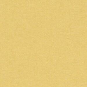 448580 Rasch Florentine Plain Mustard Yellow Textured Fabric Effect