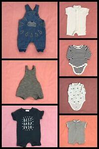Frugal 7 X Garçons's Next Clothing Bundle Job Lot 1st T/1 Mois-afficher Le Titre D'origine