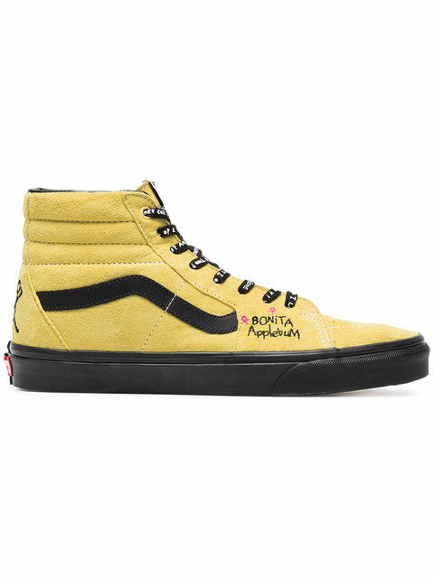 9b41a0fdb6 VANS a Tribe Called Quest ATCQ Sk8 Hi Mellow Yellow Women s 7 Skate Shoes  for sale online