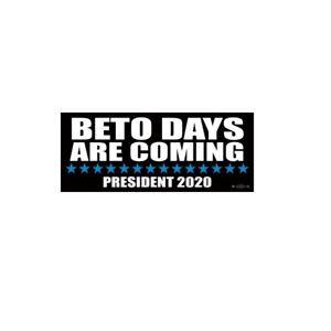 BETO O/'Rourke For President 2020 Bumper Sticker