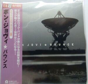 Bon Jovi - Bounce + 4 Bonustracks JAPAN SHM MINI LP CD UICY-94553 NEU
