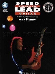 à Condition De Speed Mechanics For Lead Guitar Tab Music Book/audio Troy Stetina Metal Shred-afficher Le Titre D'origine