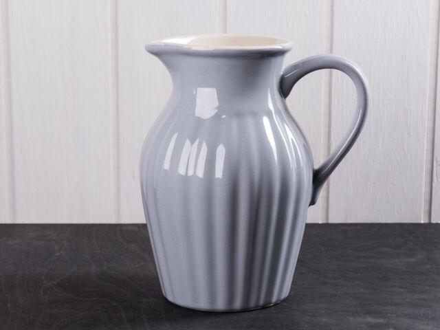 Ib Laursen Menthe Pot 1,7 Litre Gris Céramique Vaisselle Français Cruche Carafe