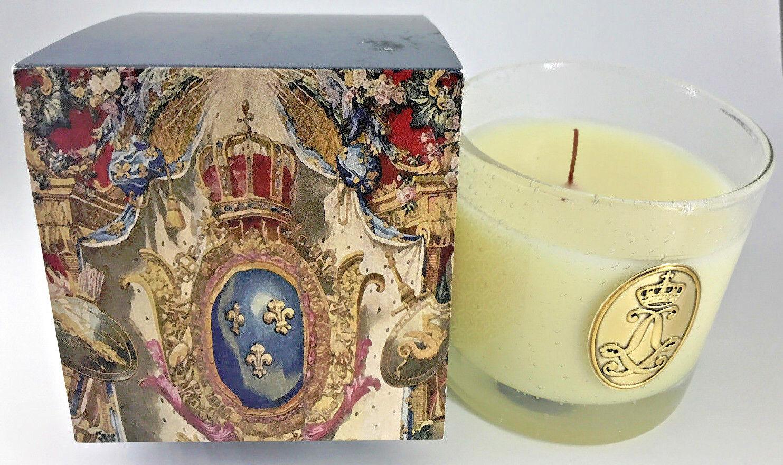 Nouveau chateau de Versailles rois Cologne Bougie Parfumée 10.5 OZ (environ 297.66 g) 300 g