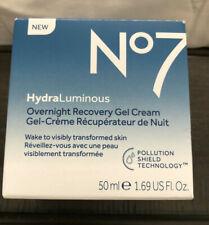 No7 Hydraluminous Overnight Recovery GEL Cream 50 Ml