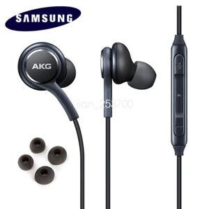 Samsung AKG Kopfhörer Headset Kopfhörer Ohrhörer Galaxy s9 ...