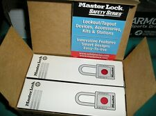Box Of 6 New Master Lock Keyed Alike Safety Lockout Padlocks 411kared New