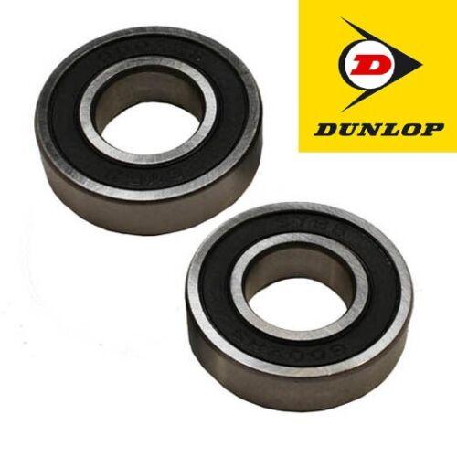 6001RS Dos rodamientos de goma de sellado Dunlop 6001-2RS 12 X 28 X 8mm 1st Class Post