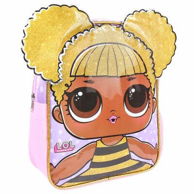 Affidabile Bambine Bambini Ufficiale Lol Sorpresa Queen Bee Zaino Zaino-mostra Il Titolo Originale