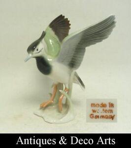 Porcelain-Bird-Figurine-Western-Germany