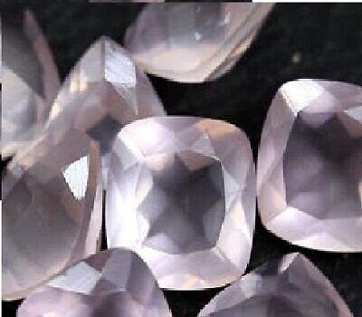Rarest Lot Natural Rose Quartz 3X3 mm Round Faceted Cut Loose Gemstone