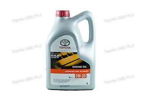 Ltr Toyota Engine Afe 0w20 Oem Litres Genuine Motor 5 Oil bvIf6yYg7