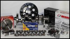 Sbc Chevy 427 Assembly Scat Amp Wiseco 8cc Dh 4125 Pistons 2pc Rms 350 Mains