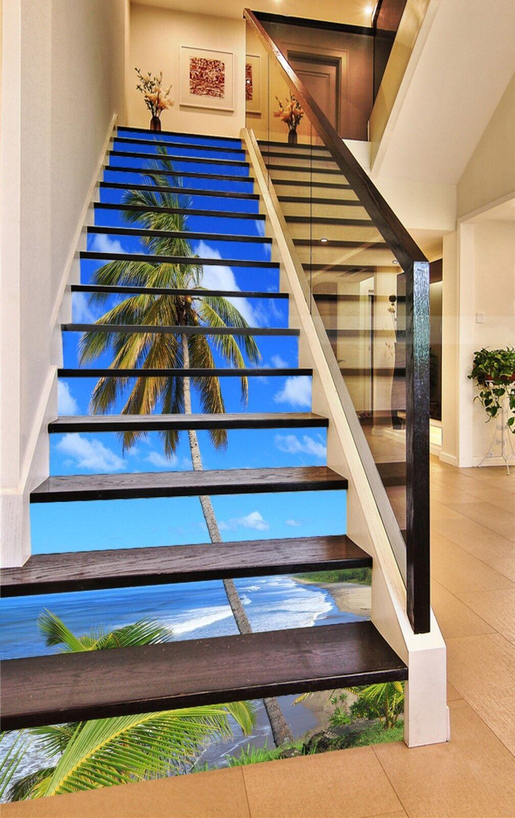 3D Skt Tree 23 Stair Risers Decoration Photo Mural Vinyl Decal Wallpaper CA