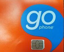 AT&T Prepaid Nano 4g LTE SIM Card Unactivated GoPhone SKU 6944a