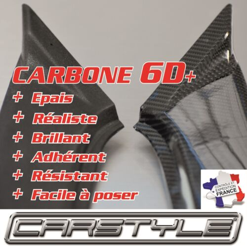 CARBONE 6D NEW 2017 film vinyle Rouleau 152x70cm covering Bubble Free NOIR
