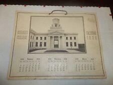 GIRARD COLLEGE 1930 CALENDAR Philadelphia PA