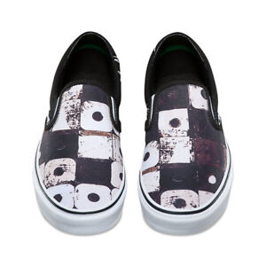 d1c5b6497e VANS x A TRIBE CALLED QUEST (ATCQ) CLASSIC SLIP ON BLACK MENS SZ 13 ...