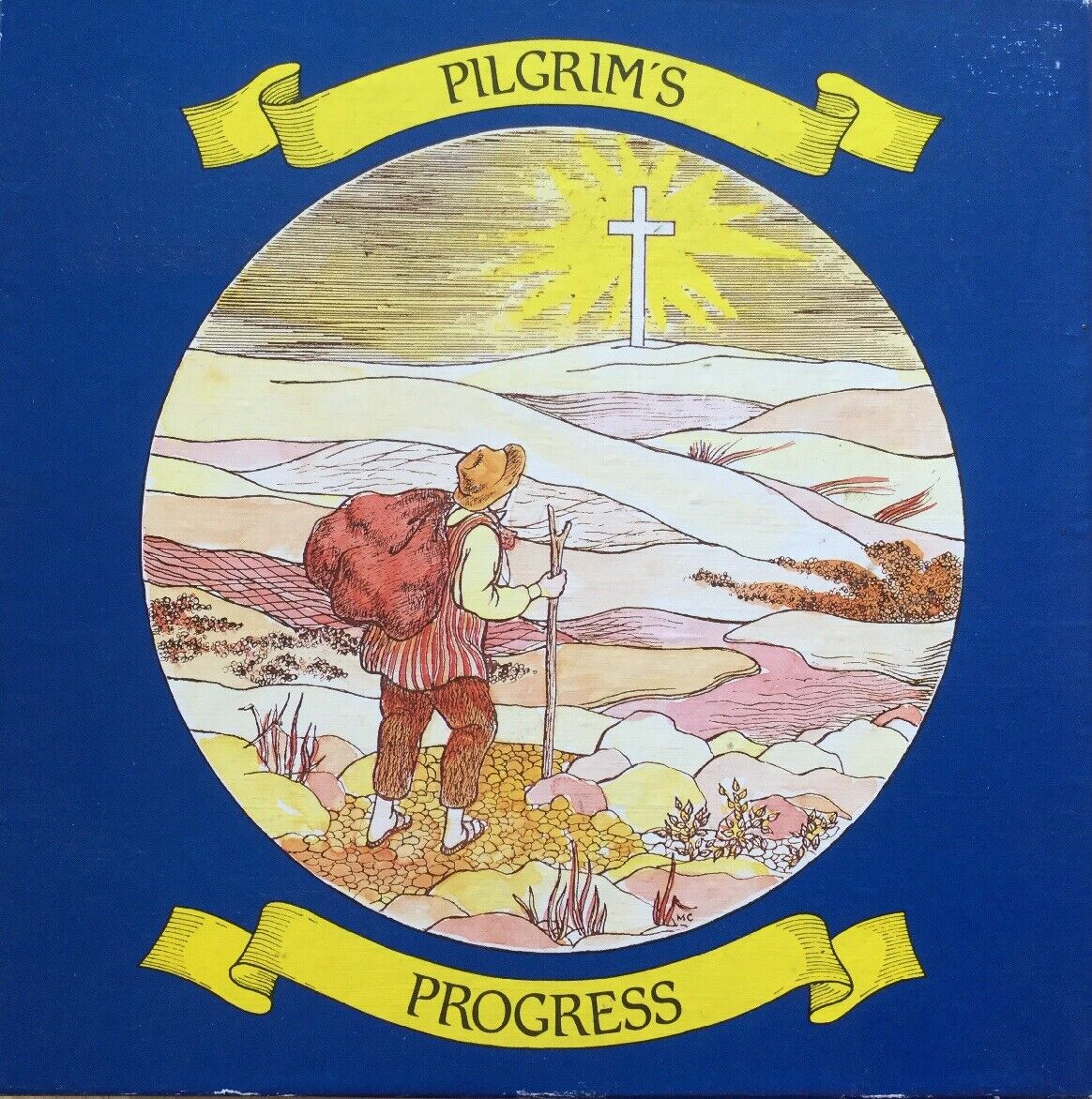 Pilgrims Progress Vintage 1990 BoardJuego por Clipper Juegos Completos EX COND
