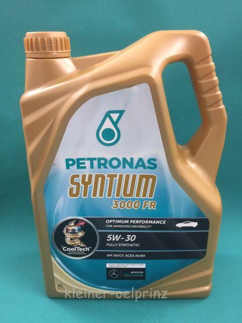 5 Litros Petronas Syntium 3000 Fr 5w30 Ford Wss-M2c913-D Completamente Sintético