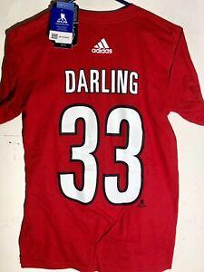 fcbdb68ca Image is loading adidas-NHL-T-Shirt-Carolina-Hurricanes-Scott-Darling-