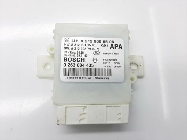 MERCEDES-BENZ E-CLAS PDC Parking Distance Control Unit A2129009505 2010 10891206