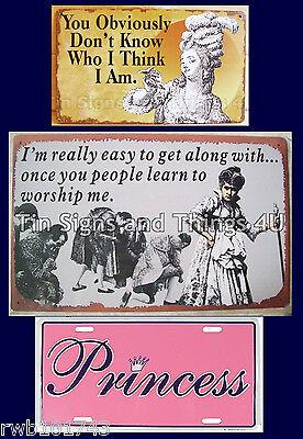 Purple Heart Diva LICENSE PLATE car tag goddess sassy girl gift sign wall decor