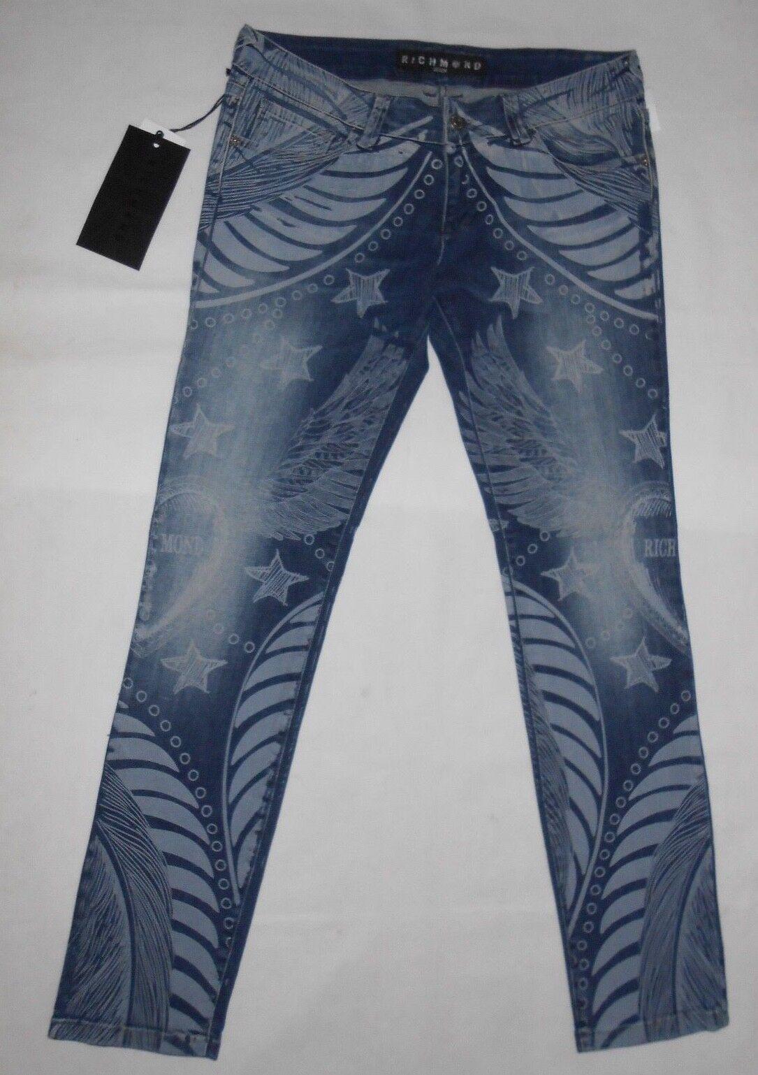 New John Richmond Denim, bluee skinny jeans W29