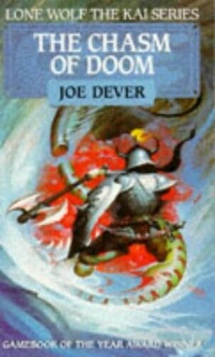 The Chasm of Doom (Lone Wolf) by Dever, Joe Paperback Book The Cheap Fast Free