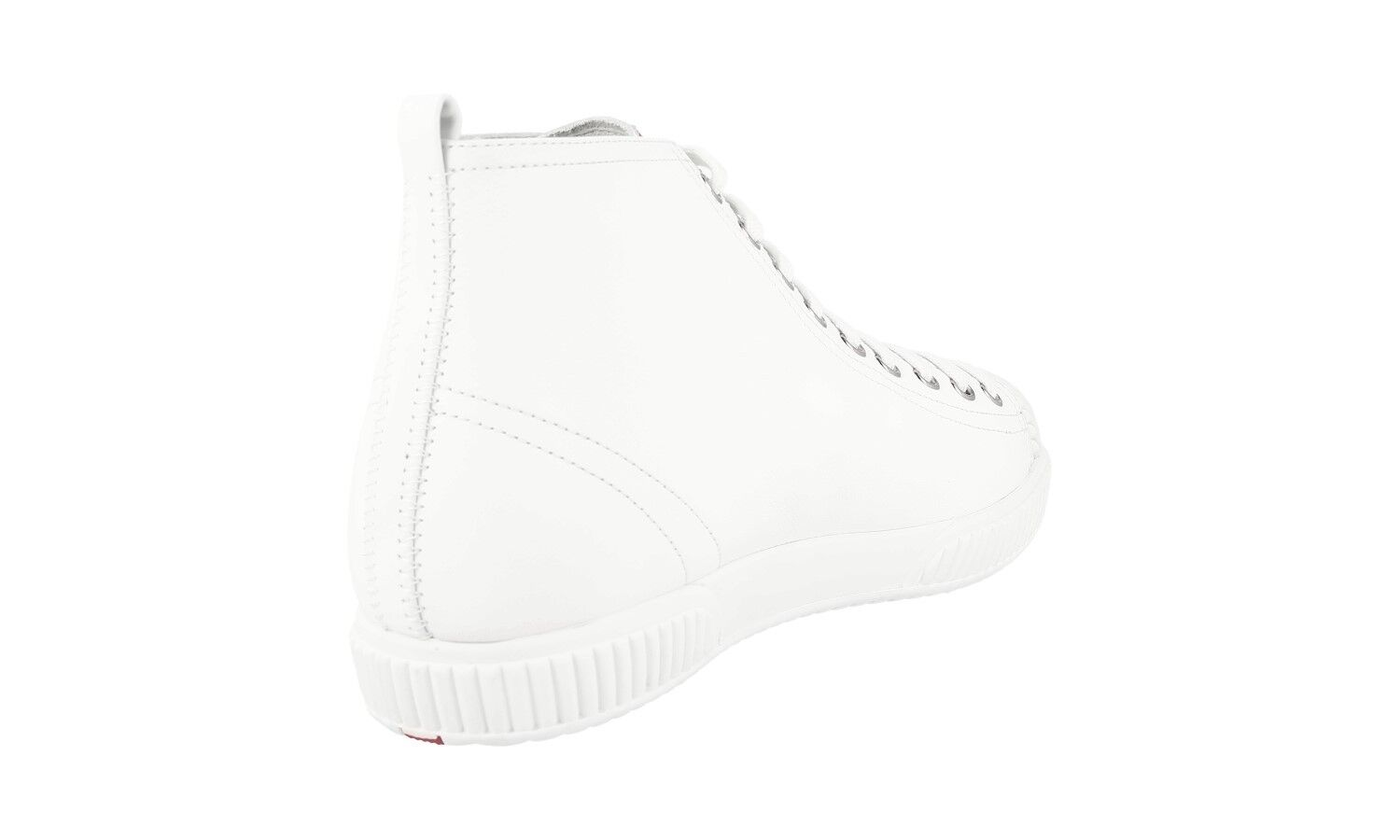 AUTHENTIC LUXURY PRADA baskets chaussures chaussures chaussures 3T5877 blanc NEW US 11 EU 41 41,5 UK 8 be3b25