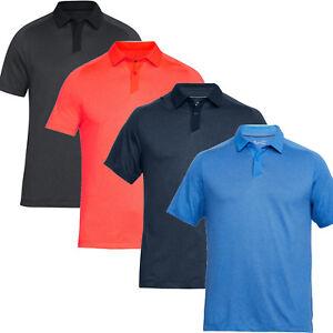 Under Armour Men s Threadborne Tour Short Sleeve Golf Polo Shirt  f1e5f7a3f