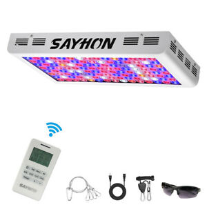 Reflector Remote Control 1200w Full Spectrum Led Grow
